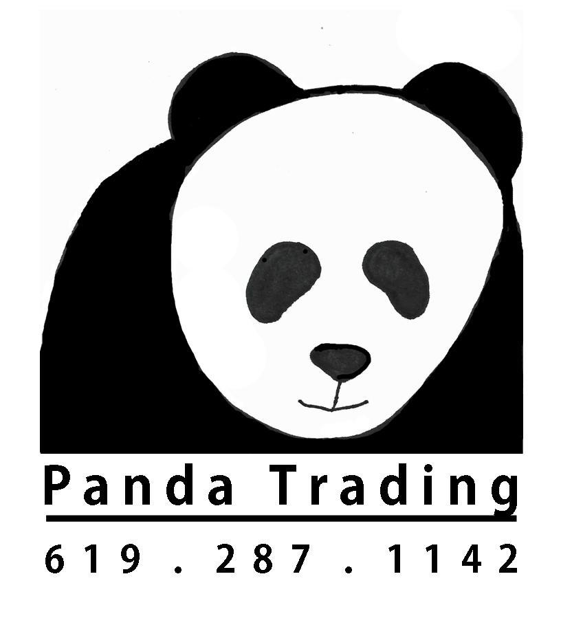 Panda Logo no frame BW